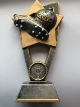 Gaelic Football Star Blast Trophy